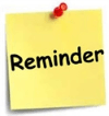 Picture of Reminder PostIt